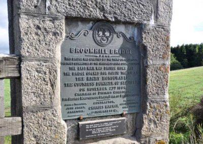 Broomhill Bridge Plaque