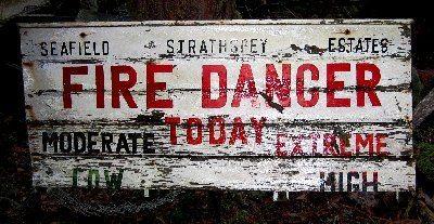 Tree Nursery Fire Sign